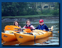 Kids Kayak Camp - Minnows